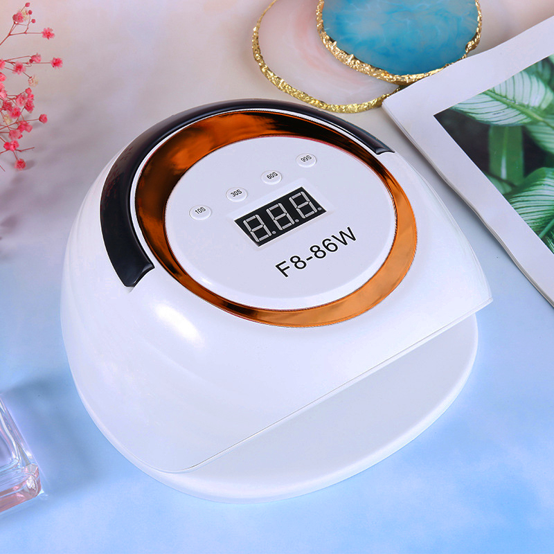2021 New Arrival High Power 86W F8 Led UV Nail Lamp