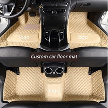 Автомобильные коврики kalaisike, автомобильные коврики для Porsche, все модели, Cayman, Macan, Panamera, Cayenne Boxster, 718, аксессуары для стайлинга автомобиля(Китай)