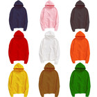 Asian size Unisex Men's 100% Polyester Fleece Cheap OEM Blank Customize Logo Loose Hooded Sweatshirt Hoodies Hoodie