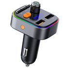 Wireless Fm Transmitter Mp3 Wireless Bluetooth 5.0 Fm Transmitter Car Adapter Music Mp3 Player With Led Backlit