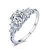 14;Platinum;carat diamond ring
