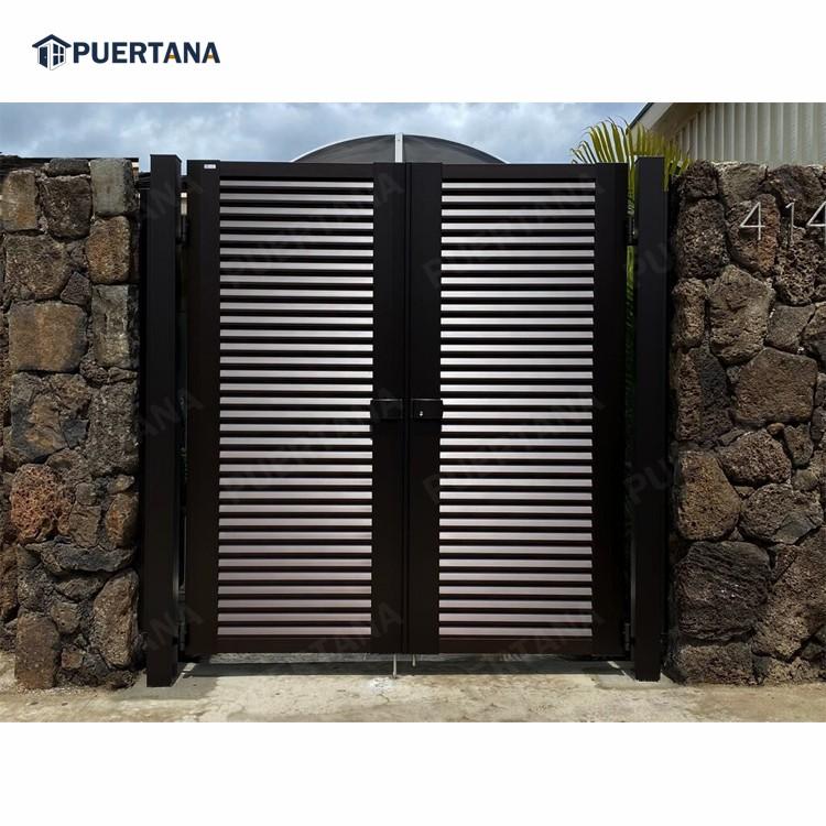 Последний дизайн главных ворот, кованые железные ворота, железные ворота для дома