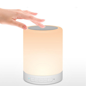 2019 NEW Wholesaling Portable Sensitive Colorful Lighting lamp S66 wireless Blue Tooth Speaker