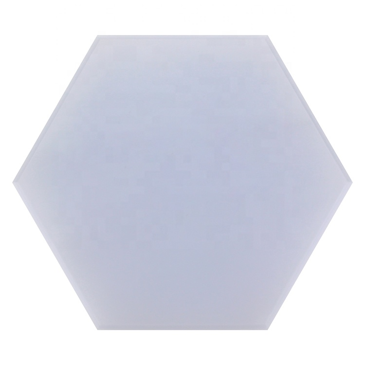 High quality DIY hexagon shape wall mounted puzzle led panel light amazing AE retail PC 12W best price factory selling