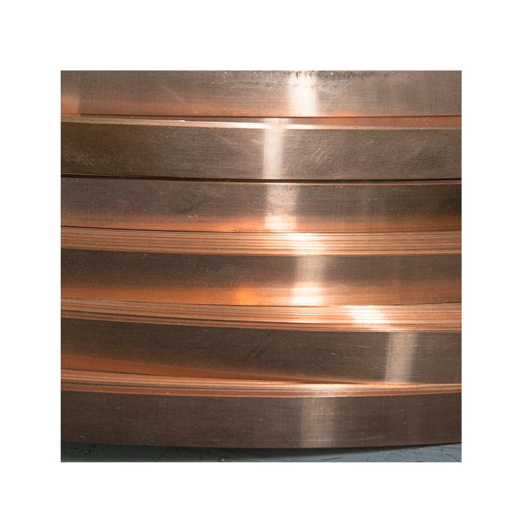 Продажа с завода, карточка из медной фольги 0,4 мм/тонкая медная полоса