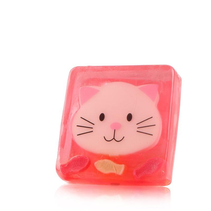 Производитель под заказ Детское мультяшное животное ручная работа увлажняющее эфирное масло мыло для ванны