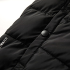 Men Jacket Coat Winter Men Contrast Colors Men Black Fashion Faux Down Polyfill Coat Oversize Padded Bomber Man Classic Jacket Winter