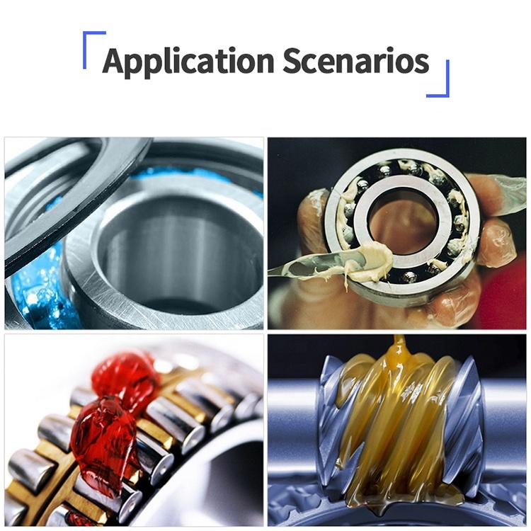 VNOVO Black MoS2 High Temperature 800 degree Anti-Seize Lubricant Grease For Brake Wheel Hub and Thread and Bolt