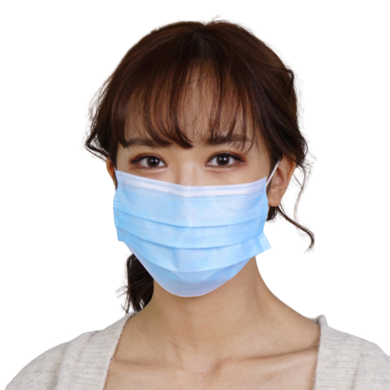 3 Plys Disposable Face Masks Earloop Protective FaceMask 3 Layer Dust Mouth Masks - KingCare   KingCare.net