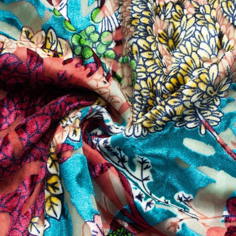 Оптовая продажа, эластичная бархатная ткань, нейлоновая эластичная бархатная ткань