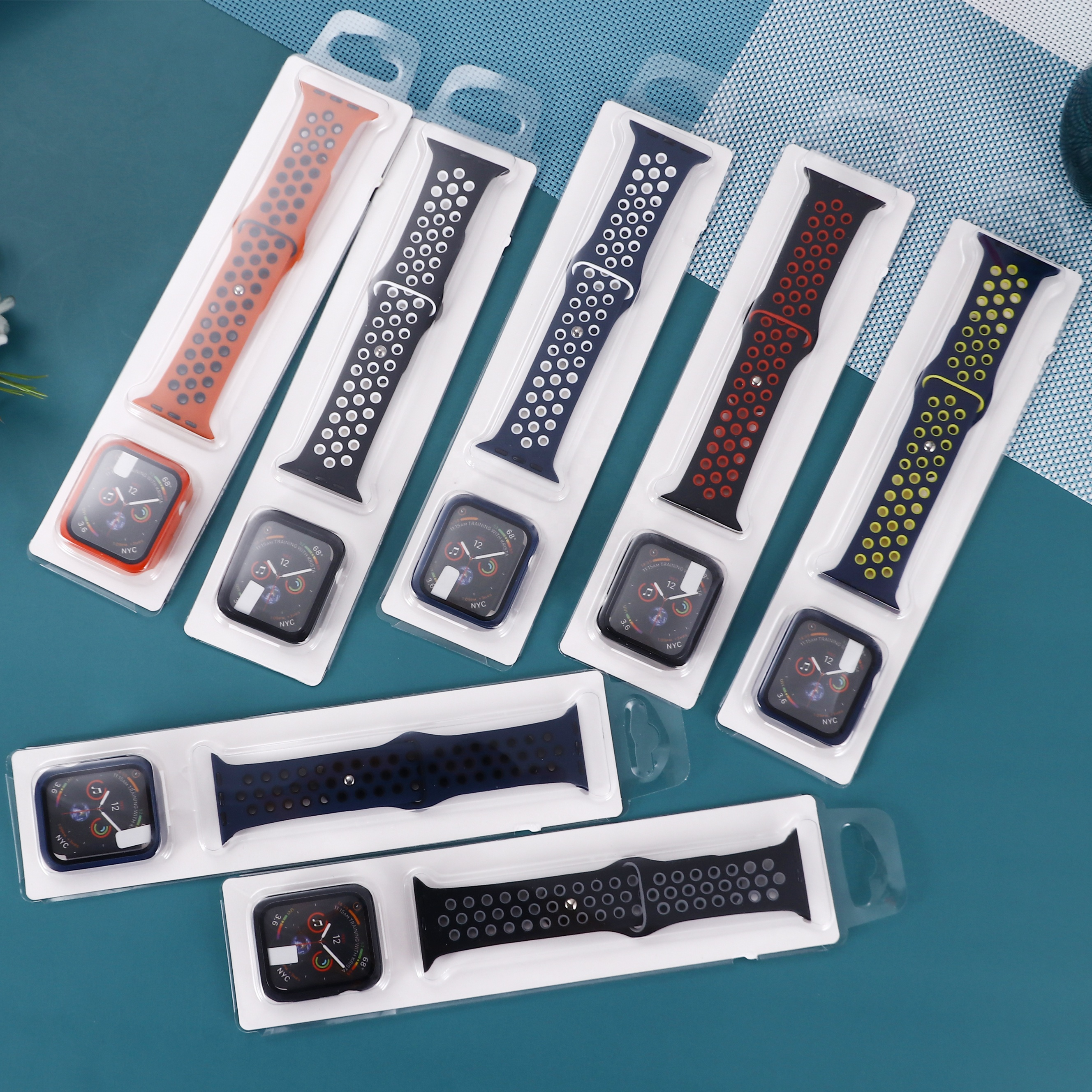 New design Customizable T500 straps different shapes eco-friendly silicone strap watch band