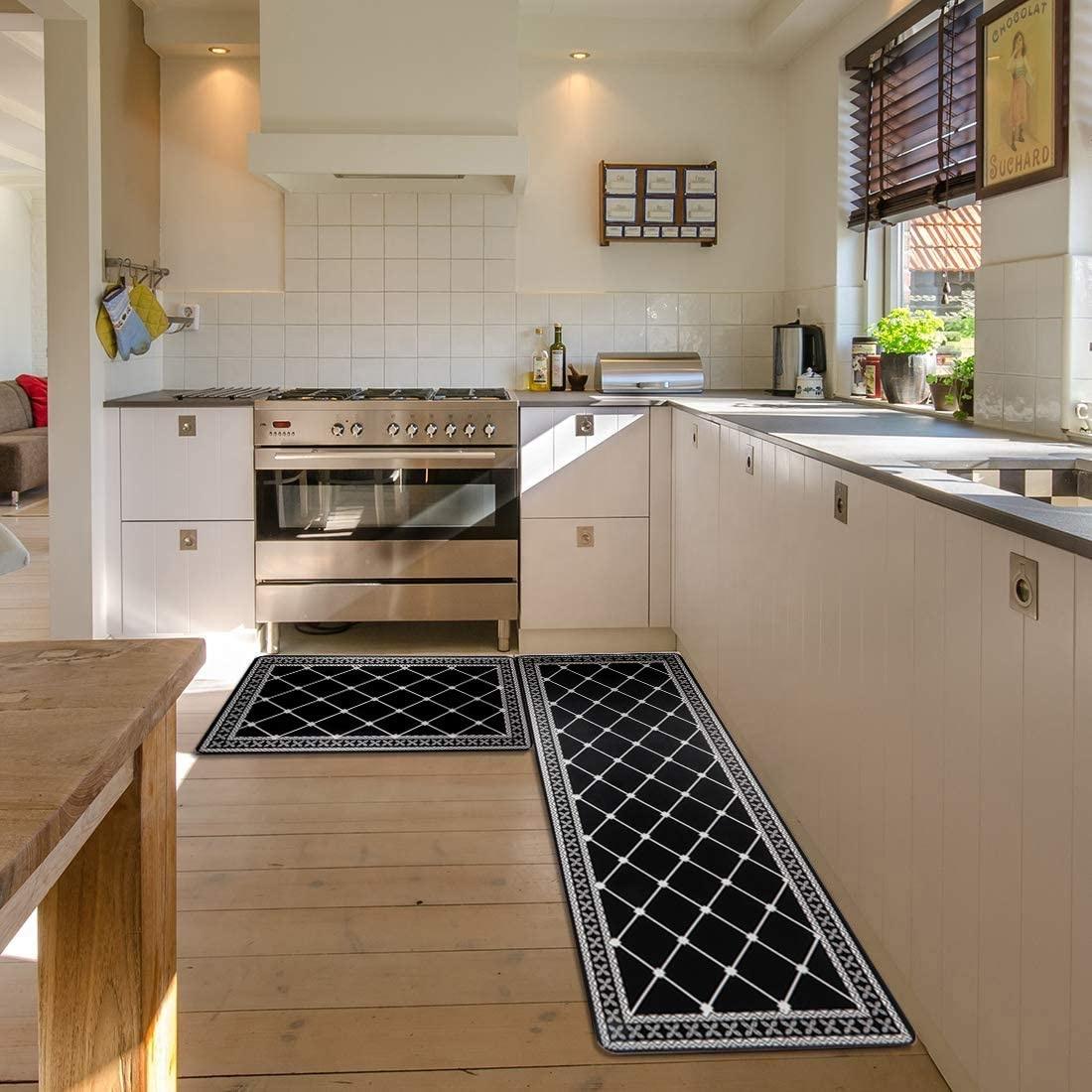 Uv Print Anti Fatigue Pvc Kitchen Mat