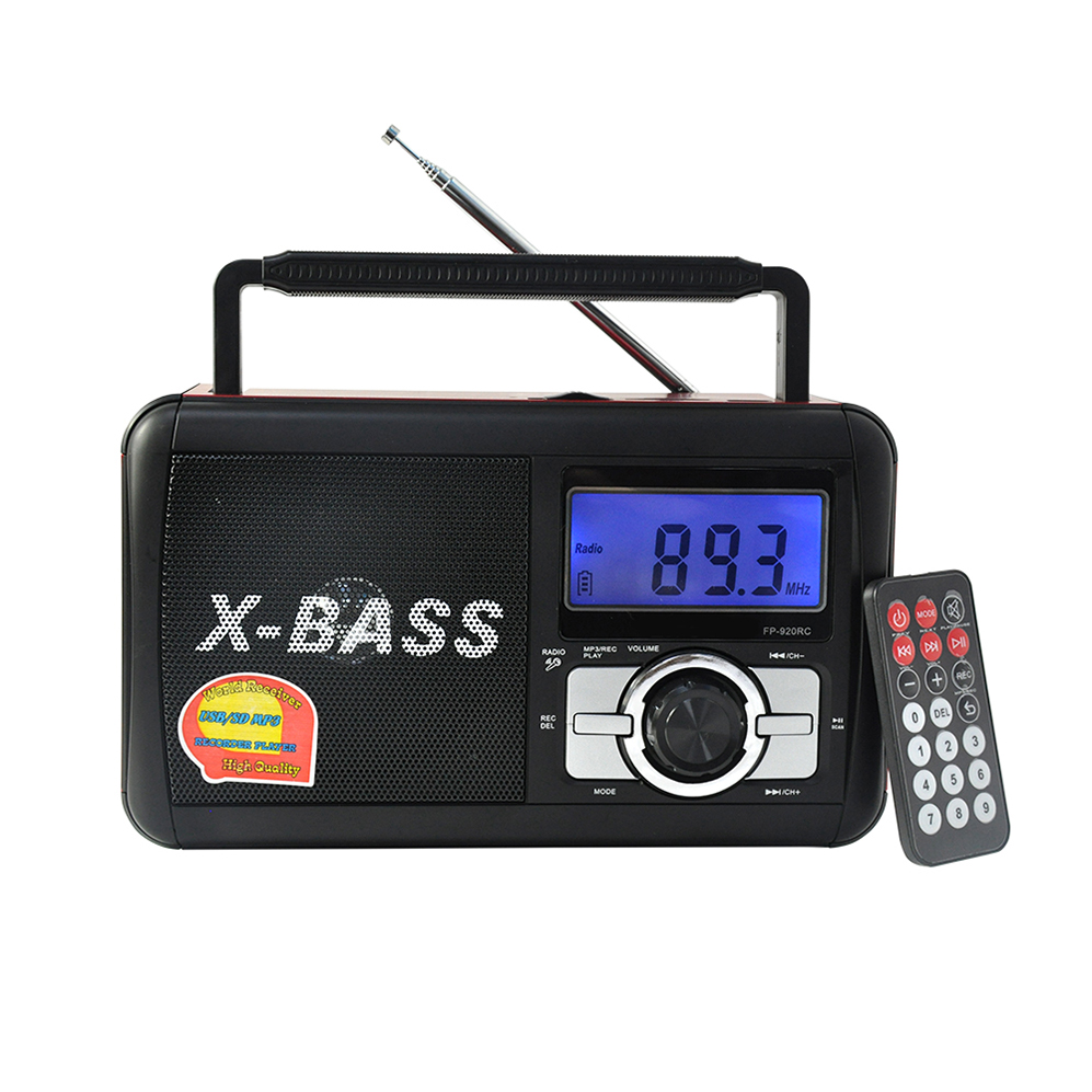 Dsp Rp 309 Multiband Am Fm Sw Tv 9 Band Rechargeable Retros Digital Portable Radio With USB