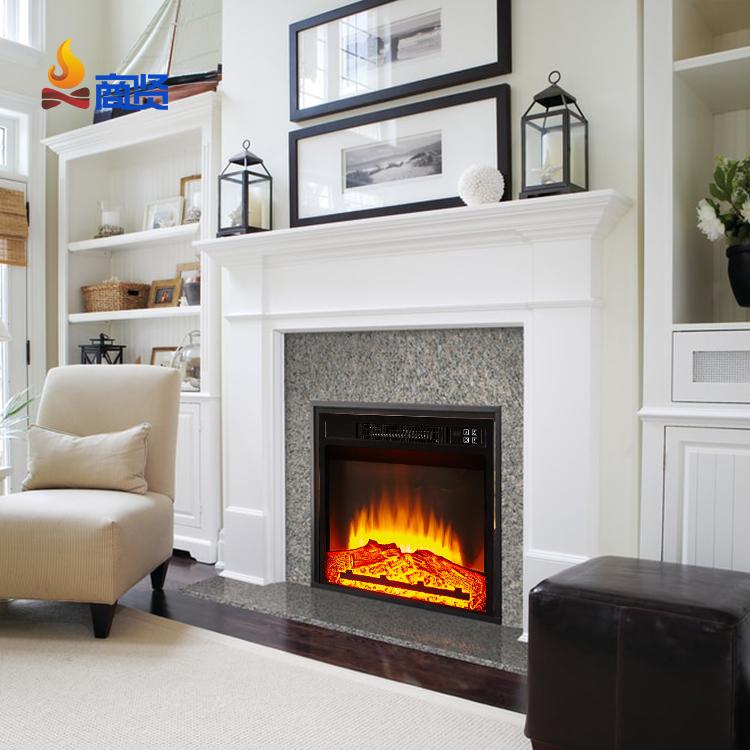 Роскошный домашний электрический камин с регулируемой температурой