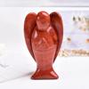 RED Jasper Carving Angel