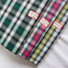 Meilisi 100% cotton fabric yarn dyed fabric gingham check cloth for shirt woman dress