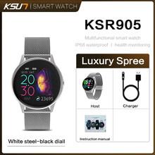 KSUN KSR905 Смарт-часы IP68 Водонепроницаемые часы из закаленного стекла фитнес-трекер монитор сердечного ритма спортивные мужские wo мужские умны...(Китай)