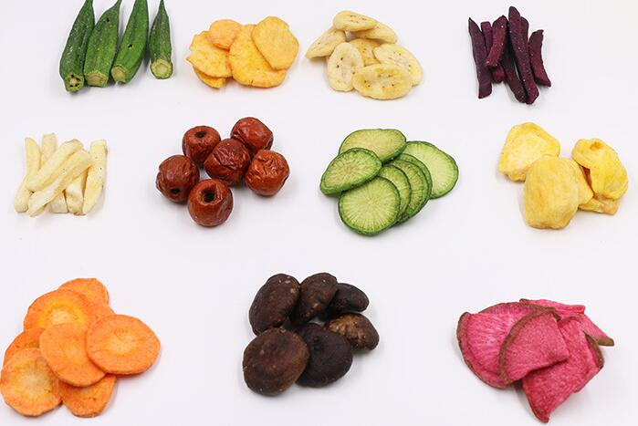 AGOLYN Healthy Snacks VF Dried Mixed Vegetables And Fruit Chips