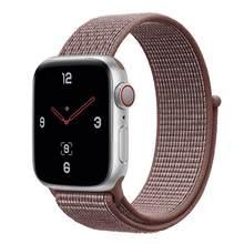 Нейлоновые Ремешки для наручных часов Apple Watch 38 мм 40 мм 42 мм 44 мм серии 1 2 3 4 5 Apple iWatch ремешок спортивный нейлоновый браслет(Китай)