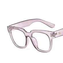 Модные оптические очки оправа Женские винтажные очки оправа для мужчин прозрачные очки оправа с линзами при миопии Брендовые очки(Китай)