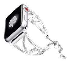 Ремешок для часов, из нержавеющей стали, для Apple watch 5/4/3/2, 38/40/42/44 мм(China)