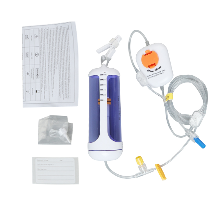 Factory Direct Sale CBI+PCA Type 60-300 ML Medical Disposable Infusion Pump Price
