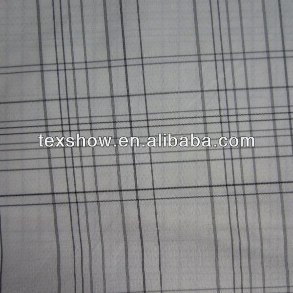 Waterproof 100% polyester yarn dyed  fabric