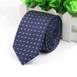 Мужской деловой галстук, формальный дизайнерский жаккардовый галстук в полоску, Свадебный галстук, узкий классический галстук, Официальный галстук