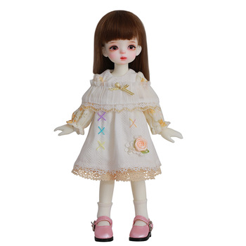 Small Pretty Shuga Fairy Smile Soo 1/6 Sized 26cm Body Jointed Doll Loli Doll Toys