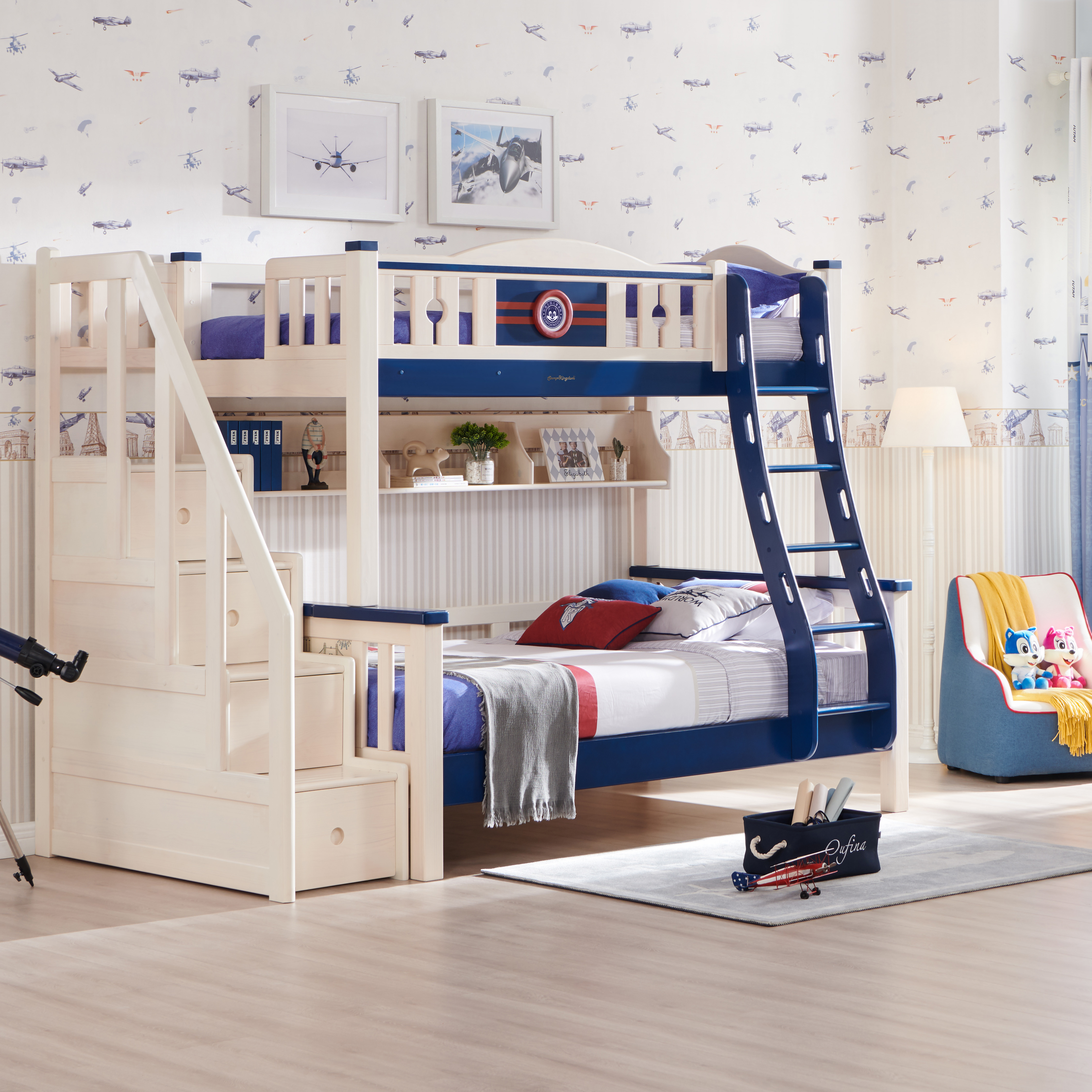 Twin Size Loft Kids Wooden Children Princess Bunk Bed With Stairs Buy Twin Size Loft Kids Wooden Children Princess Bunk Bed With Stairs Colorful Child Bunk Bed Funky Bunk Beds Product On Alibaba Com