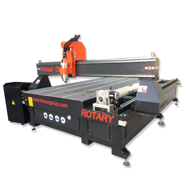 FORSUN Multi-function 1325 CNC Router With Rotary Device Wood CNC Router