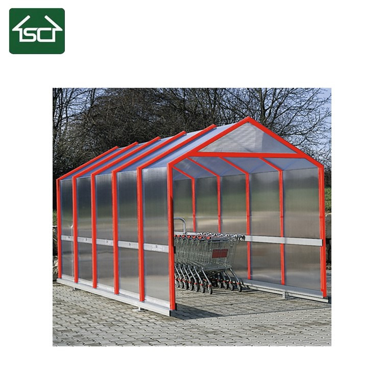 Strong Shopping Trolley Bays and Shelters