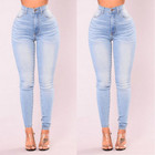 Jeans Women Designer Jeans Classic Women's Jeans High Waist Button Sexy Multi-pocket Skinny Jeans