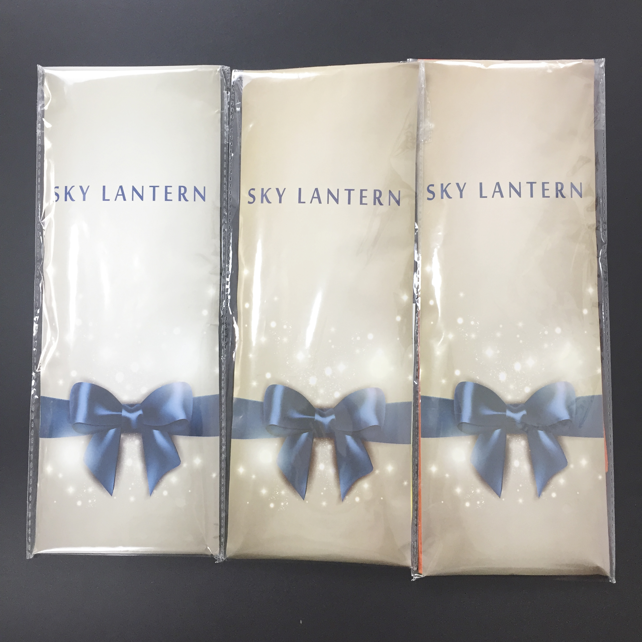 2021 NAMAY New Arrival 100% Biodegradable Foldable Chinese Paper Square Sky Lanterns