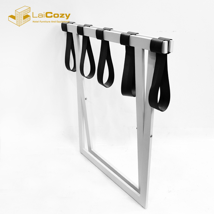 Durable Hotel guest Room Folding iron suitcase luggage rack