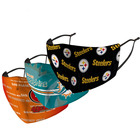 NFL League football Mask Chief patriot eagle cowboy Tiger printing Steelers Thin section adult washable Face mask