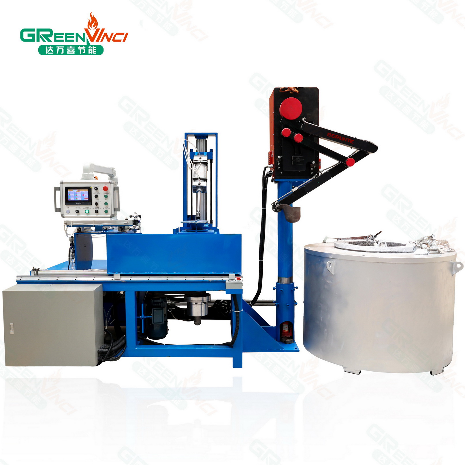 automatic high-efficiency labor-cost saving centrifuge die casting moulding machine ceiling fan cover