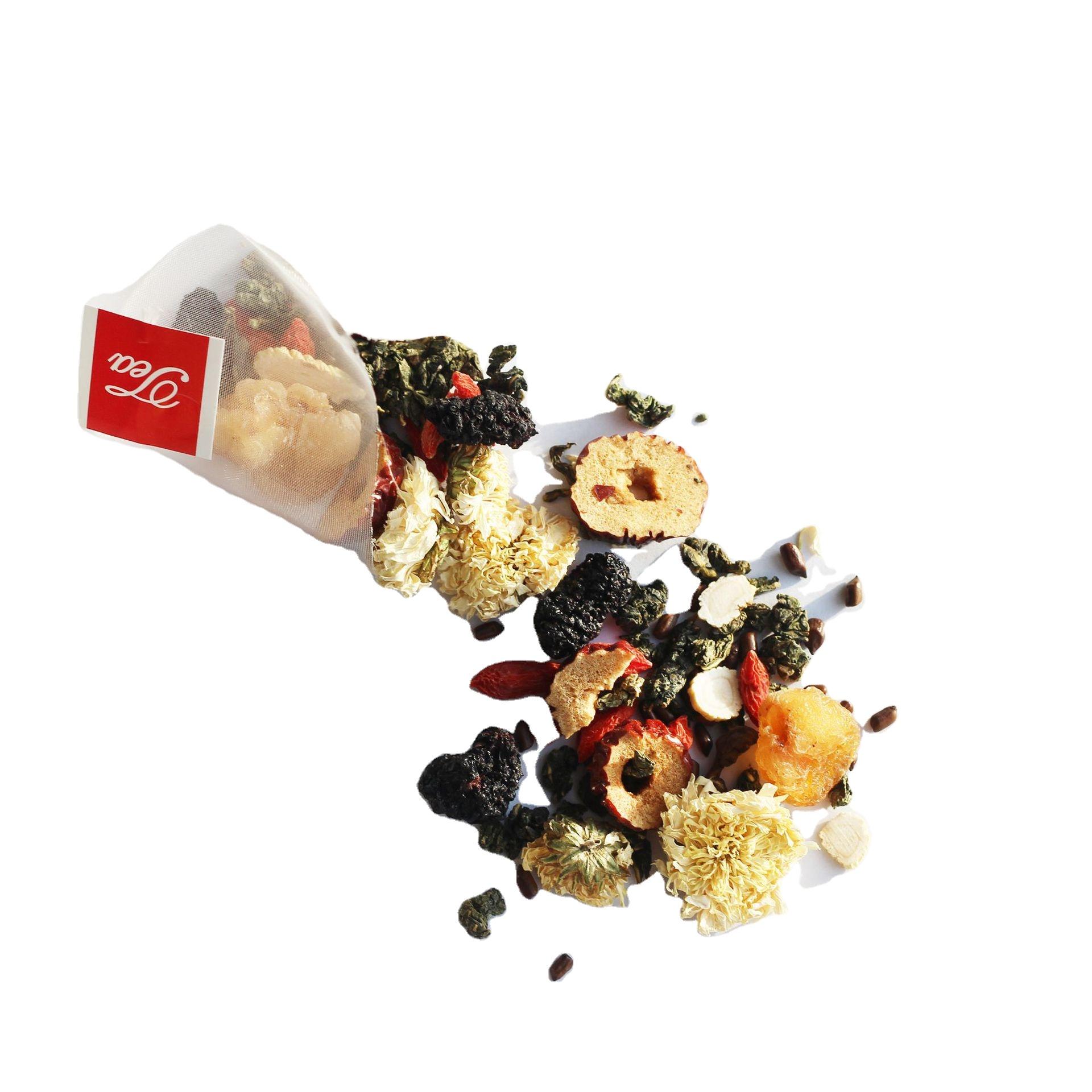 2021New Private Label Organic Blooming Dried Flower Tea Chrysanthemum Mulberry Tea Health in Independent bag - 4uTea   4uTea.com