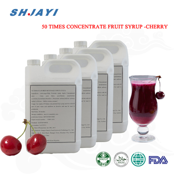 2019 hot sale Cheapest 50 times concentrated syrup tart cherry syrup