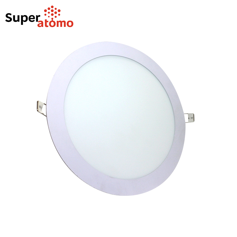 New Item 3W 6W 9W 12W 18W 24W Recessed Lighting Super Slim LED Ceiling Lamp Price Panel Light Recessed Round LED Panel Light