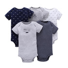 Cotton Baby Clothes What Why Cotton Clothes Toddler Clothing 5 Pack Baby Romper Unique Newborn Baby Clothes