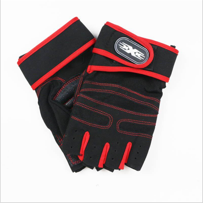Высококачественные Дышащие Перчатки для фитнеса, спортивные перчатки с защитой рук
