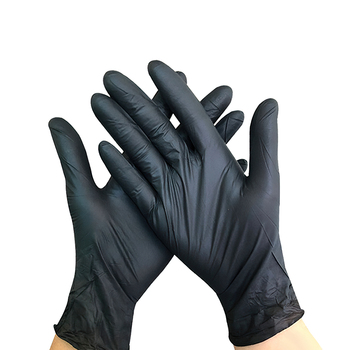 Wholesale cheap powder free disposable hand Gloves Custom sterile Non medical touch screen safety nitrile gloves