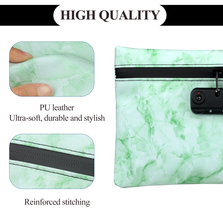 Сумка с защитой от запаха для карбоновой подкладки с замком из искусственной кожи