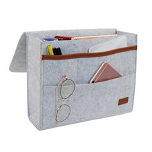 Прикроватная сумка, карманы, домашний диван, прикроватный стол, войлок, висячий Органайзер, сумка C55(Китай)