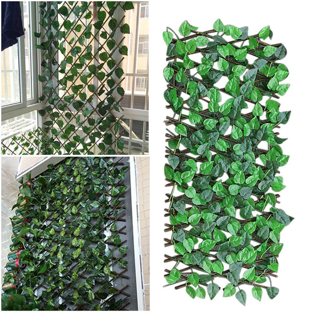Expanding Trellis Fence Retractable Fence Artificial Garden Plant Fence Uv  Protected Privacy Screen For Outdoor Indoor Use Garde   Buy Retractable ...