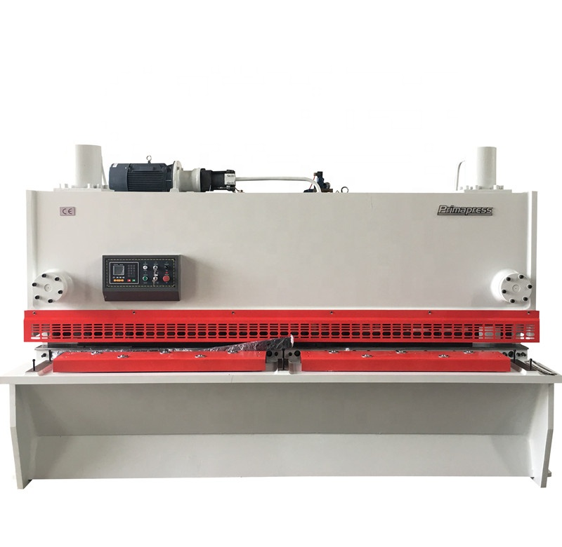 QC11K-12X4000 Guillotine hydraulic shearing machine price sheet metal