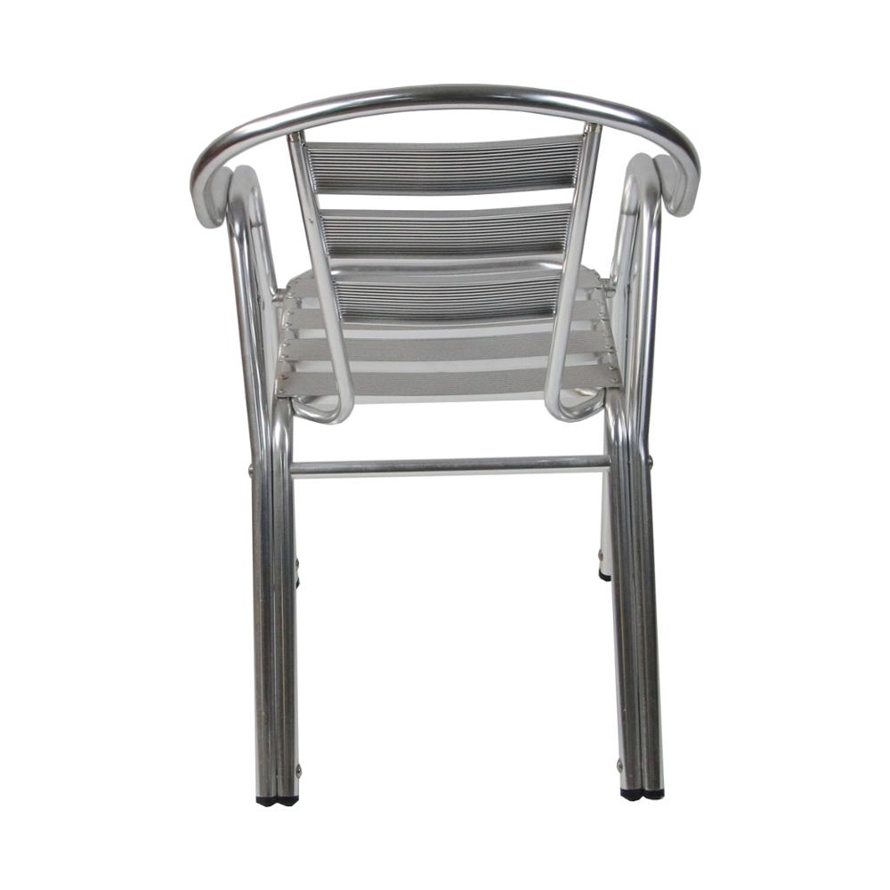 Пластиковый круглый садовый стул, литой алюминий, наружные стулья, патио