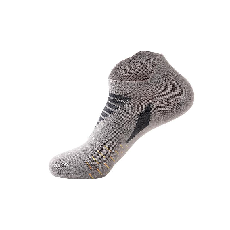 Wholesale Custom Low Cut Men Sport Bike Cycling Ankle Socks Outdoor Running Breathable Short Tube  Calcetines Socks