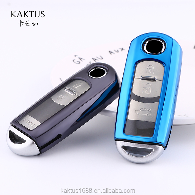 For Mazda CX-3 Car Key Case TPU protect Cover Carkey shell